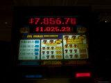 Slot Machine Shows a Growing Jackpot