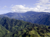 The Peaks of the Rwenzori Mountains  Uganda