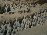 The Terra-Cotta Army near the 2 200-Year-Old Tomb of China's First Emperor  Qin Shi Huang