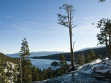 Waterfall at Emerald Bay Lake Tahoe California