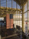 View Inside Ronald Reagan National Airport  Arlington  Virginia