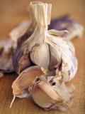 A Dried Garlic Bulb