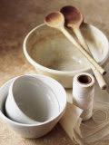 Pudding Basins  Wooden Spoons  Kitchen String  Baking Parchment