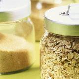Cereals in Storage Jars