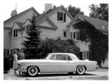 WM Clay Ford Lincoln Continental  1955