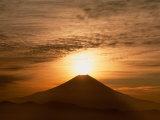 Sunrise Over Mt Fuji