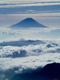Mt Fuji Over the Clouds