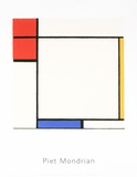 Composition with Red  Yellow  and Blue