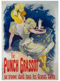 Le Punch Grassot Giclée par Jules Chéret