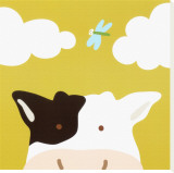 Peek-a-Boo III  Cow