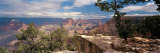 Rock Formations in a National Park, Mather Point, Grand Canyon National Park, Arizona, USA Papier Photo