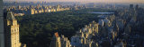 Buildings in Central Park  Manhattan  New York City  New York  USA