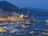 Harbour at Dusk  Monte Carlo  Monaco