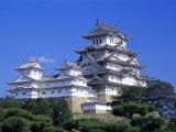 Himeji Castle  Honshu  Japan