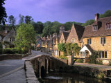 Castle Combe  The Cotswolds  Wiltshire  England