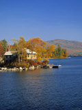 Squam Lake  Lakes Region  New Hampshire  USA