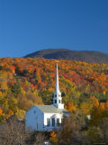 Church at Stowe  Vermont  New England  USA