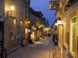 Rue de Petit  Champlain  Quebec City  Quebec  Canada