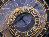 Astronomical Clock  Old Town Hall  Prague  Czech Republic