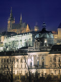 Castle and St Vitus Cathedral  Prague  Czech Republic