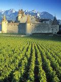Chillon Chateau  Switzerland