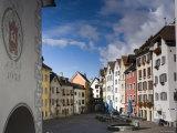 Old Town  Chur  Graubunden  Switzerland