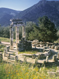 Sanctuary of Athena Pronaia  Delphi  Greece