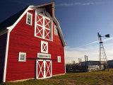 Red Barn  North Battleford  Saskatchewan  Canada