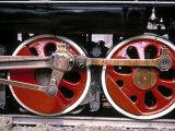 Main Wheels of Steam Locomotive  Tangshan  China