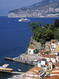 Sorrento  Bay of Naples  Italy