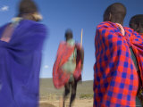 Masai Tribe  Masai Mara National Park  Kenya