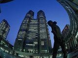 Metropolitan Govt Bldg  Shinjuku  Tokyo  Japan