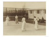 Badminton at Riposo  20th Century