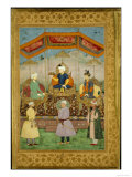 Timur Handing the Imperial Crown to Babur  India
