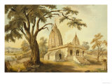 Hindu Temple at Sambatpur in Orissa  India