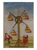 Family on a Ferris-Wheel  from the Boileau Album  Madras  India  c1785