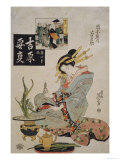 The Courtesan Suganosuke of Okamoto- Ya in the Fourth Month