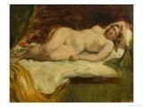 Study of a Nude Female Sleeping