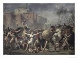 Les Sabines Arretant Le Combat