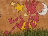 Musical Wall Mural  Santa Fe  New Mexico