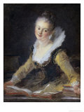 Young Woman Doing Her Studies