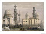 Tombs of the Memlooks  Cairo  with an Arab Funeral