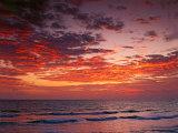 Sunrise Over the Atlantic Ocean  West Palm Beach  Florida