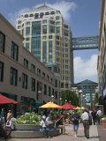 City Center Pedestrian Zone  Downtown Oakland  California