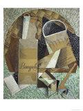 Bottle of Banyuls, c.1914 Giclée par Juan Gris