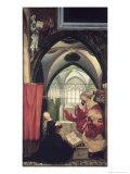 The Isenheim Altarpiece  Annunciation