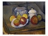 Flawed Vase  Sugar Bowl and Apples