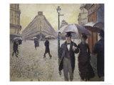 Sketch for Paris Street; Rainy Day  1877