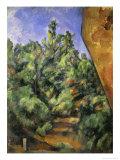Le Rocher Rouge Giclée par Paul Cézanne