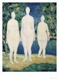 Three Nude Figures  c1908
